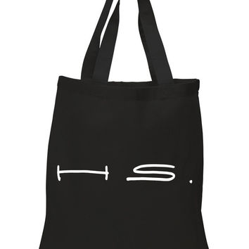 "Harry Styles ""H.S."" 100% Cotton Tote Bag"