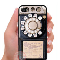 Vintage Payphone iPhone 5/5s/5c/4/4s and Galaxy s3/s4 case. Free shipping and screen protector!