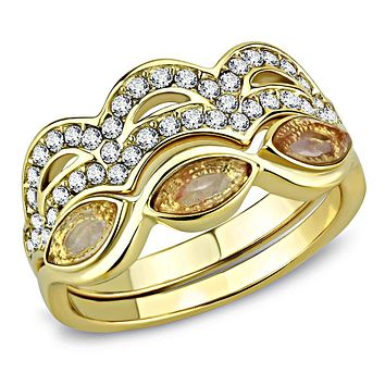 IP Gold(Ion Plating) Stainless Steel Ring