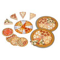 Pizza Matching Game for Kids