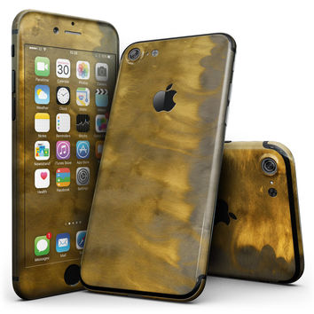 Furry Golden Explosion - 4-Piece Skin Kit for the iPhone 7 or 7 Plus