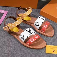 LV Slipper Women Sandals Louis Vuitton Slippers LV Fashion Casual Shoes
