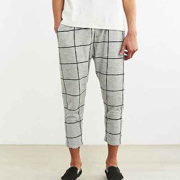 Publish Fionn Windowpane Cropped Knit Pant