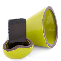 ModCloth Rustic Hold the Phonograph Cell Phone Speaker