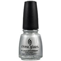 China Glaze Nail Polish, Platinum Silver, 0.5 Fluid Ounce