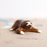 Sloth Totem by leanimale on Etsy