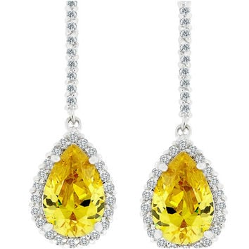 Shop Canary Yellow Earrings on Wanelo af3e54886500