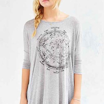 Silence + Noise Through The Galaxy Tunic Top