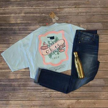 Okie 1907 With Front Pocket T-shirt