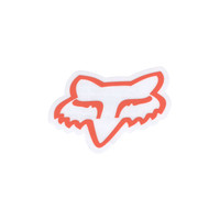 Fox Fox Head Sticker Coral One Size For Women 21028531301