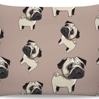 ROB Pug Pillowcase