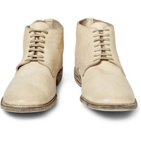 Guidi - Leather Lace-Up Boots | MR PORTER