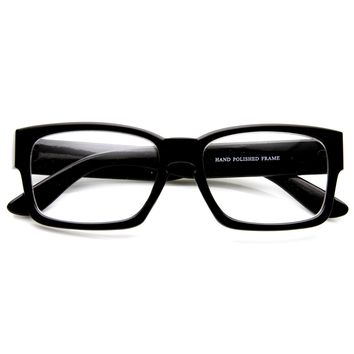 European Fashion Bold Modern Clear Lens Frames Glasses 8854