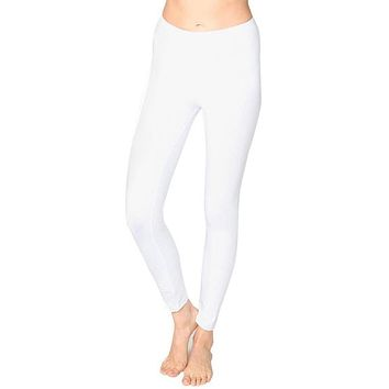 Ladies Cotton/Spandex Leggings