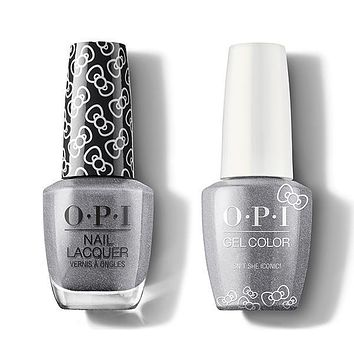 OPI - Gel & Lacquer Combo - Isn't She Iconic!