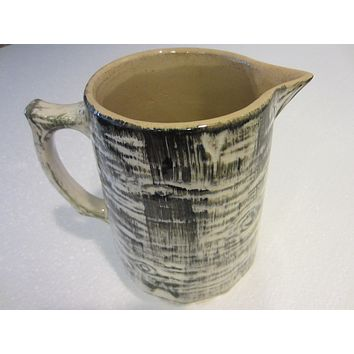 Medalta Potteries Abstract Pitcher Mid Century Redcliff Alta Canada