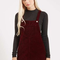 PETITE Cord Pinafore Dress - Dresses - Clothing