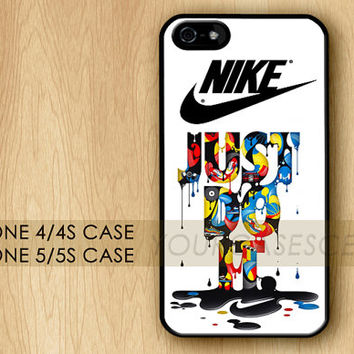 NIKE Just Do It Rare,Unique,Cool Apple iPhone 4 Case,iPhone 4s Case,iPhone 5 Case,iPhone 5s Case,iPhone 5c Case Cover,New Case for iPhone
