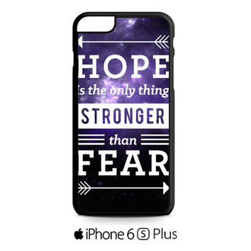 the hunger games hope quotes iPhone 6S  Plus  Case