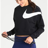 Nike Long Sleeve Cropped Sweatshirt