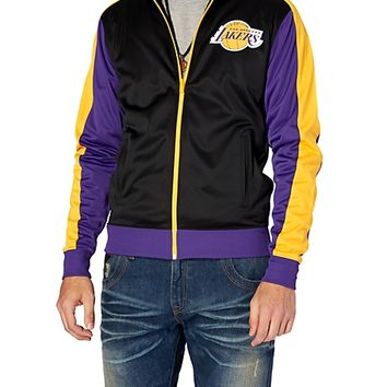 Los Angeles Lakers Team Colors Track Jacket