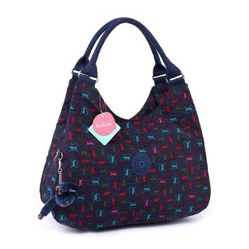 waterproof washable fabric ladies shoulder bag dumplings women tote bag retro leisure hobos bag (HB25-29)