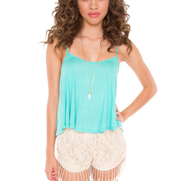 Early Bird Lace Shorts