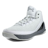 Under Armour Curry 3 Men's Basketball Shoes -SZ 10 Raw Sugar/Silver 1269279 101