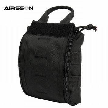 Outdoor Nature 1000D Molle Tactical First Aid Kits Utility Medical Accessory Bag Outdoor Hunting Hiking Survival Modular Medic Bag Pouch