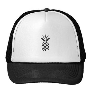 Black Pine Apple Trucker Hat