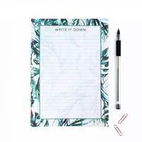 A5 Paradise palms  jotter  Notepad