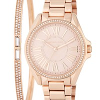 MICHAEL Michael Kors | Women's Bracelet & Watch Set | Nordstrom Rack