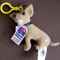 Taco Bell Chihuahua DOG Clip On