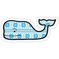 Winter Vineyard Vines Whale by sgeldziler
