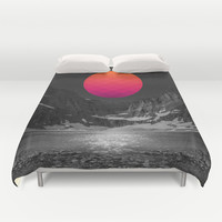 It Was Always There Duvet Cover by Soaring Anchor Designs | Society6