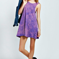 Faye Twist Back Acid Wash Dress