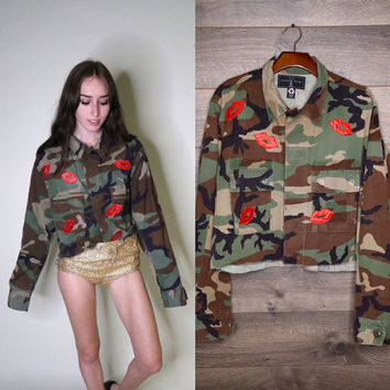 American Vintage Sweet Kisses Army Jacket