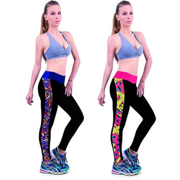 Yoga Pants Long Straight Leg for Active Sport and Workout