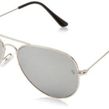 Ray-Ban Women's Oversized Aviator Sunglasses