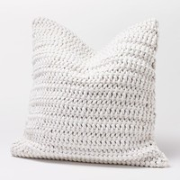 Woven Rope Alpine White Pillow