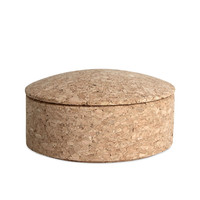 Lens Box Stackable Cork by Thomas Jenkins