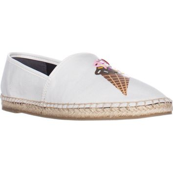 Circus by Sam Edelman Leni-15 Espadrille Flats, Ice Scream, 7.5 US / 37.5 EU