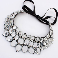 Gift Stylish New Arrival Jewelry Shiny Gemstone Necklace [6586260615]