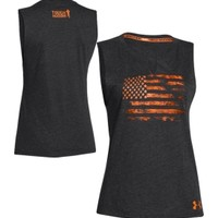 Under Armour Women's Tough Mudder Charged Cotton Legacy Sleeveless Shirt