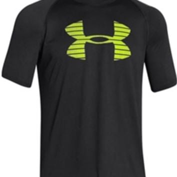 Under Armour Core Logo Tee in Black for Men 1248609-001