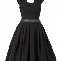 Preen Black Whisky Power Dress review at Kaboodle