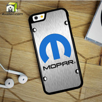 Mopar Black Logo iPhone 6 Plus Case by Avallen