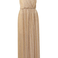 **Lurex Maxi Dress by Love - Dresses  - Clothing