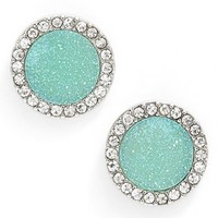 Women's Lonna & Lilly Drusy Stud Earrings