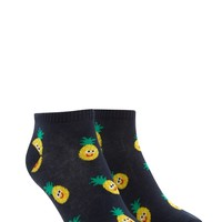 Happy Pineapple Ankle Socks